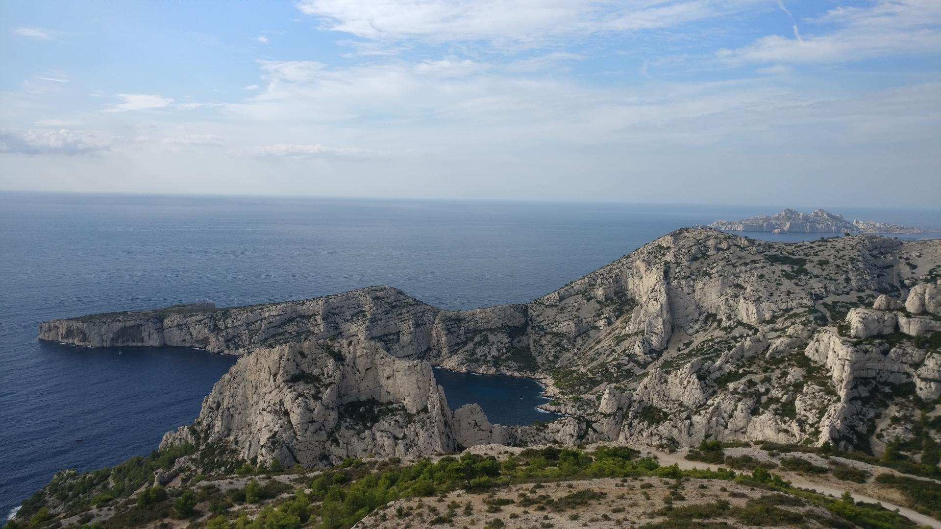 Stage grande voie octobre 2018 Calanques