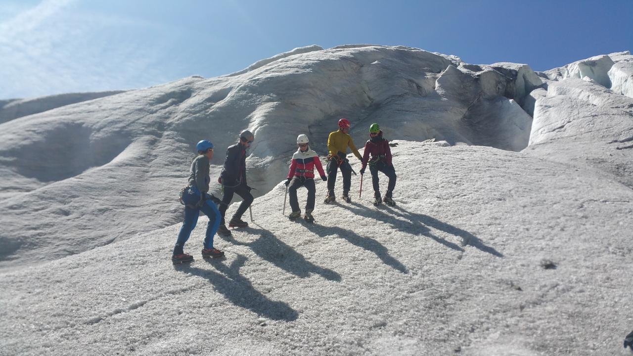 Stage alpinisme été 2017